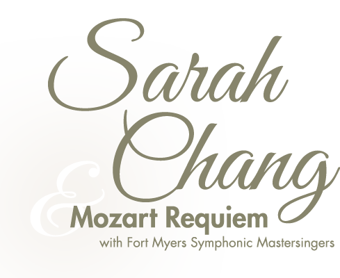 Sarah Chang & Mozart Requiem